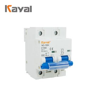 High Quality Kayal NC-100H Miniature Air Circuit Breaker Mcb
