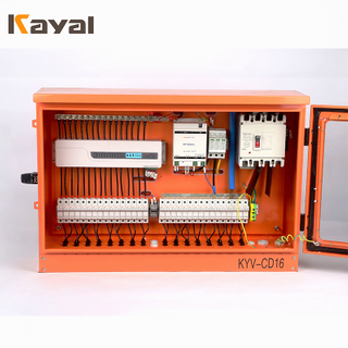 1000 Volt Solar PV 4-32 String Combiner Box Steel Material DC Combiner Box